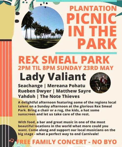 Plantation Picnic in the Park Port Douglas Carnivale Line Up